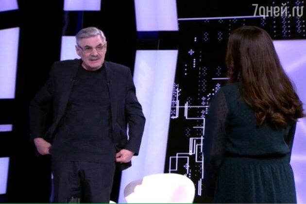 «Не знал о вашем существовании»: Панкратов-Черный встретил внебрачную дочь на шоу Кудрявцевой