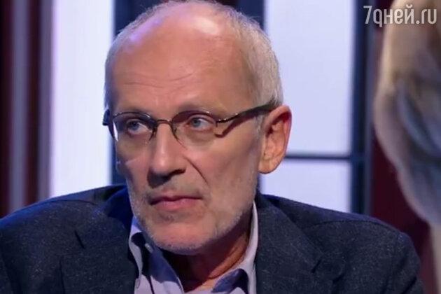 56-летний Александр Гордон госпитализирован с высокой тепературой