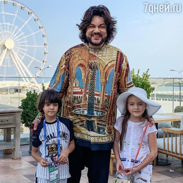Киркоров забрал детей из деревенской школы