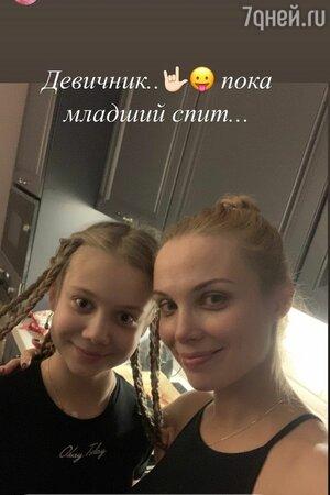 Татьяна Арнтгольц поделилась фото с девичника после рождения сына