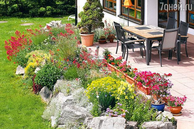 Сад камней на даче:как своими руками украсить участок