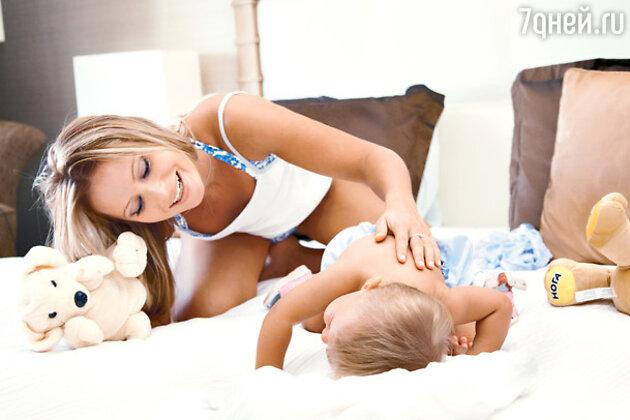 Телеведущая Дана Борисова с дочкой Полиной