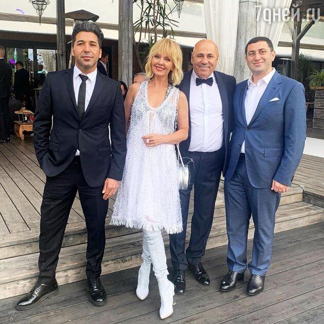 Яркие моменты свадьбы сына Валерии - фото и видео
