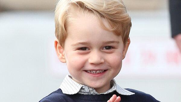 Юный принц Джордж растет неженкой