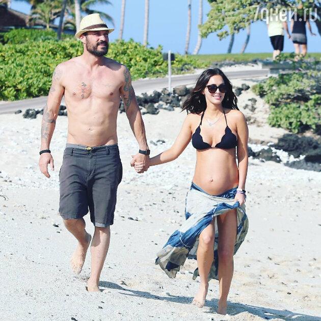 Меган Фокс с мужем