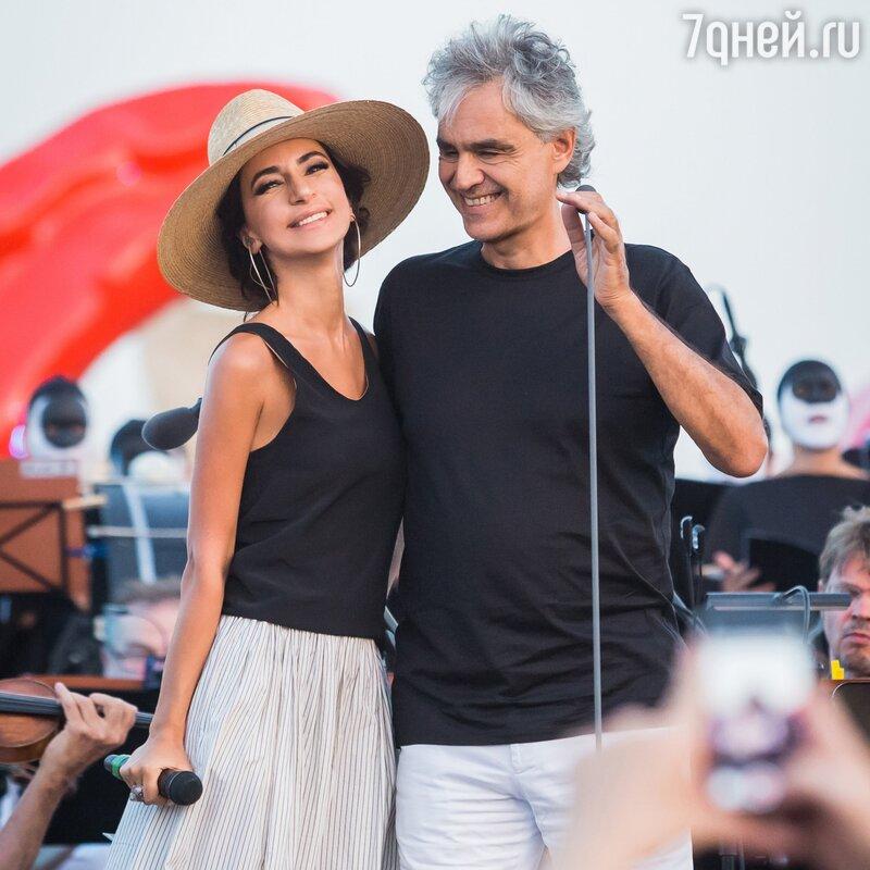 Зара споет вИталии дуэтом стенором Андреа Бочелли