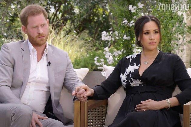 Меган Маркл и принц Гарри дали шокирующее интервью Опре Уинфри