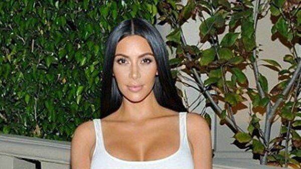 Образ дня: Ким Кардашьян в Balmain