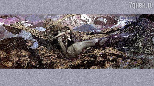 «Демон поверженный». 1902 г.
