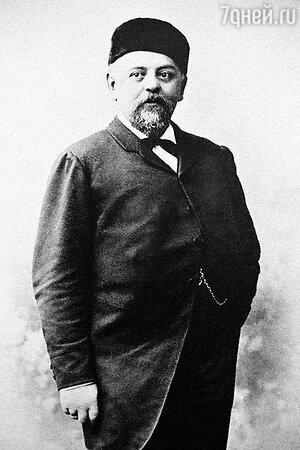 Русский меценат Савва Иванович Мамонтов. 1890-е годы