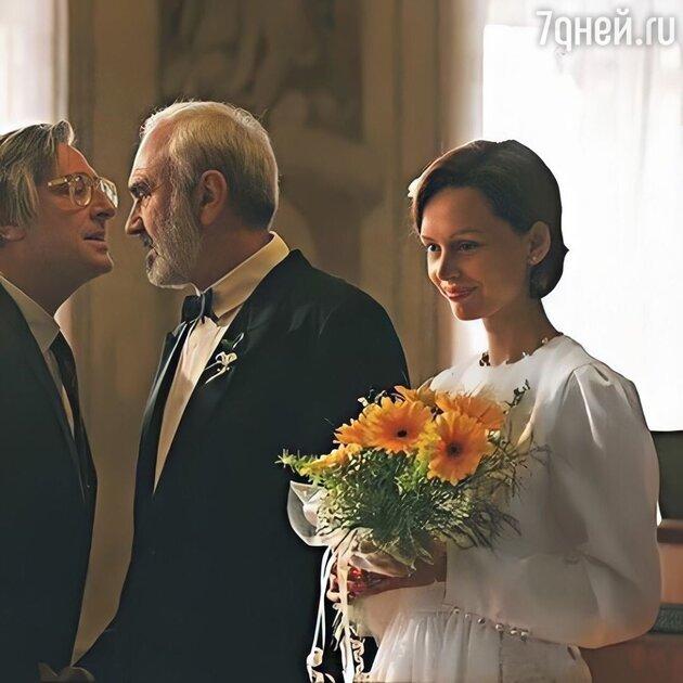 Безрукова в свадебном платье поразила красотой Лолиту