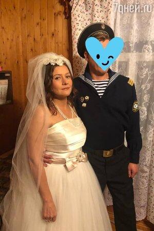 «Мечты сбываются»: Мария Голубкина в свадебном платье показала жениха