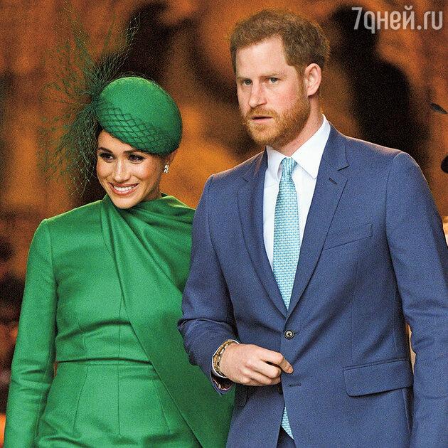 Бабушка рядышком: что грозит принцу Гарри и Меган Маркл?