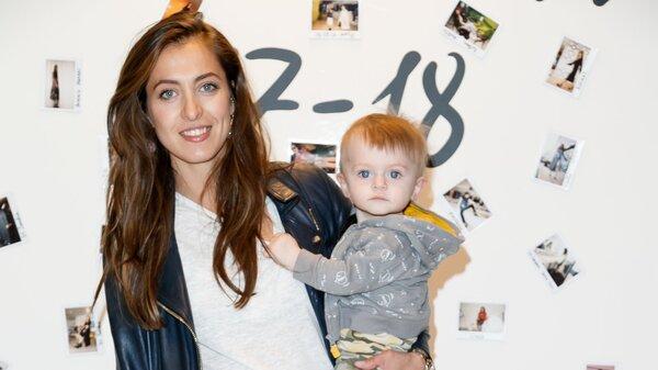 Анастасия Меськова познакомила годовалого сына с модными трендами
