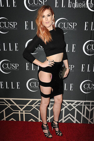 Румер Уиллис 22 апреля на концерте ELLE's 5th annual Women In Music