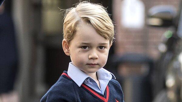 Сын герцогини Кэмбриджской нашел в школе подружку