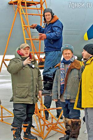 Евгений Миронов и Константин Хабенский