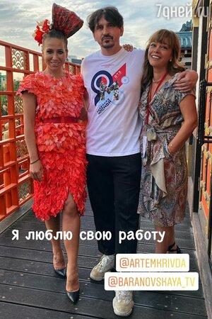 «Красивая!» Располневшая Барановская собирает комплименты