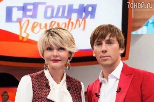 «Он мне и слова не дает сказать»: Меньшова назвала причину ухода из «Сегодня вечером»