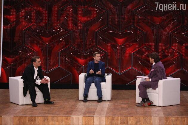 Борис Корчевников вернулся в ток-шоу «Прямой эфир» спустя четыре года