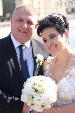 Елена Голунова с женихом
