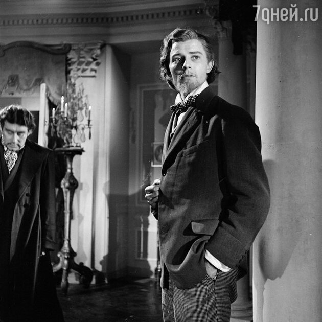 Жерар Филип в фильме «Идиот», 1945 г.