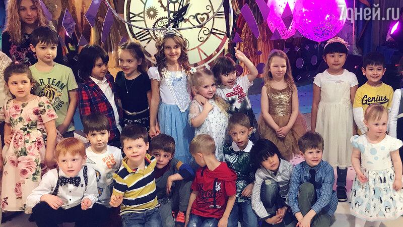 Кристина Орбакайте отметила день рождения дочери по-царски