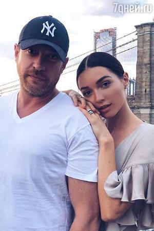 Кирилл Сафонов с дочерью
