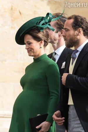 Беременность Пиппы Миддлтон впервые получила официальное подтверждение