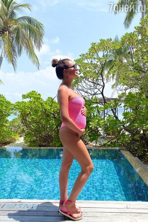 Катя Жужа ждет третьего ребенка от сына миллиардера