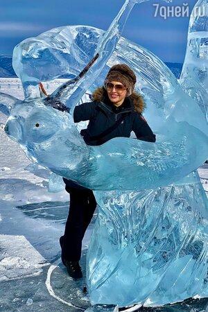 Ирина Сашина ощутила себя Снежной Королевой