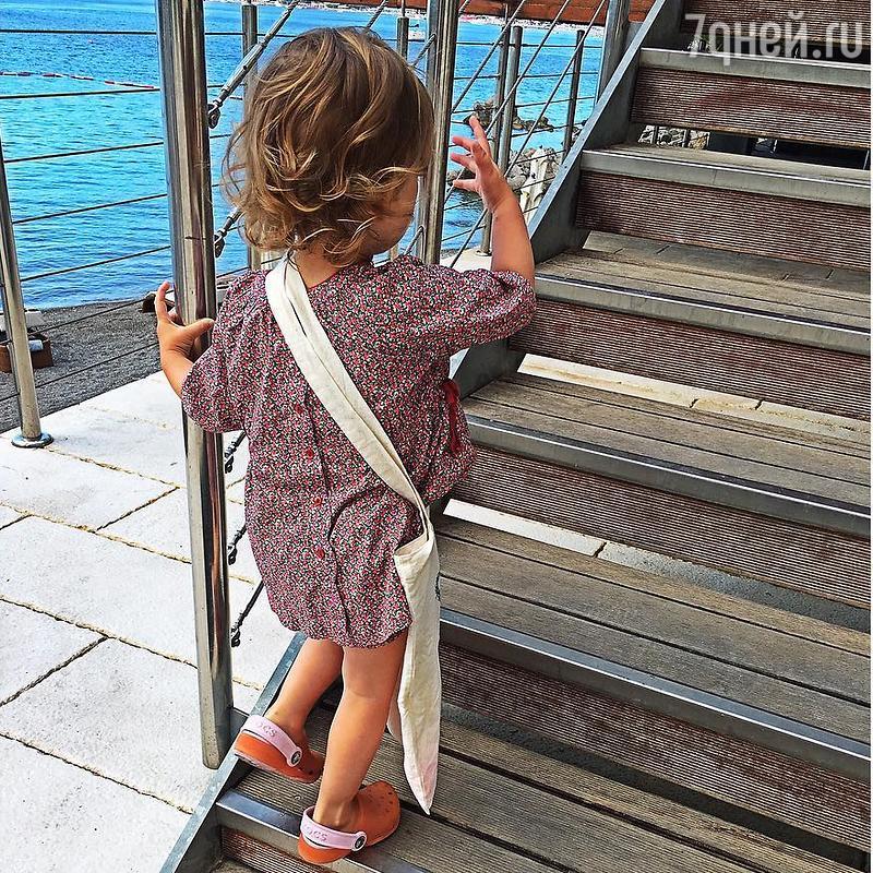 Исакова призналась, что унее есть дочь