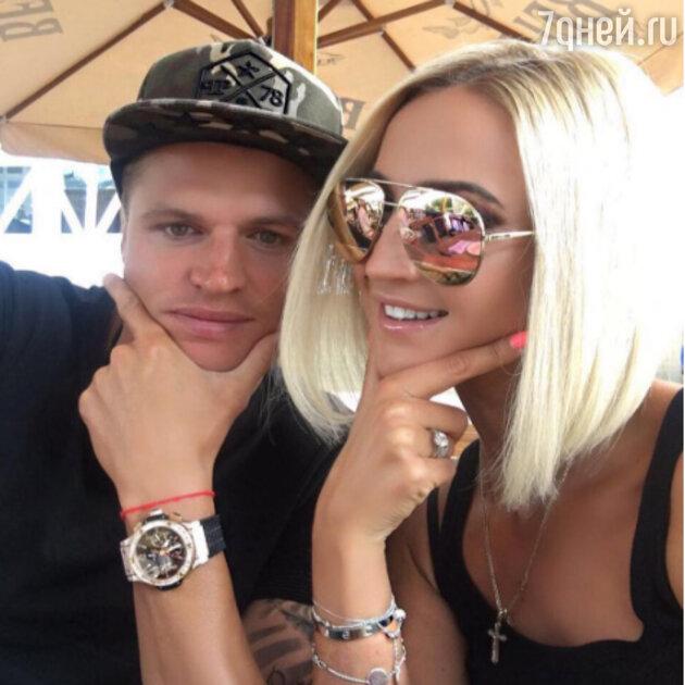 Ольга Бузова с мужем Дмитрием Тарасовым