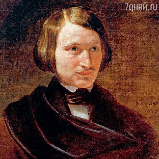 Фото репродукции картины Ф. Моллера «Портрет Н.В. Гоголя»
