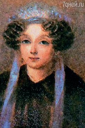 Фото репродукции портрета М.И. Гоголь