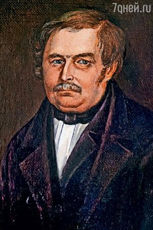 фото репродукции портрета В.А. Гоголя