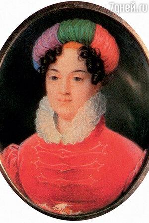 Фото репродукции портрета Александры Васильчиковой