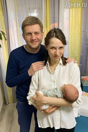 «Святое семейство!» Борис Корчевников показал новорожденного ребенка