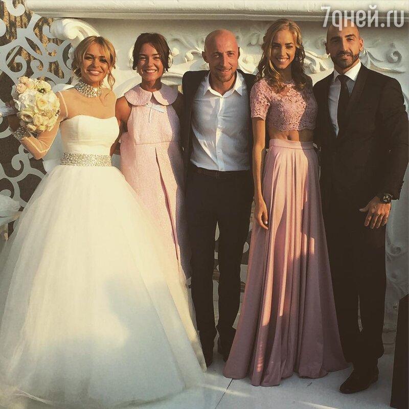 Первые фотографии Анны Хилькевич в свадебном платье - 7Дней.ру