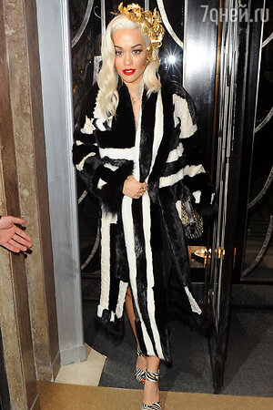 Рита Ора (Rita Ora)  на вечеринке Playboy's 60th Anniversary Issue Party