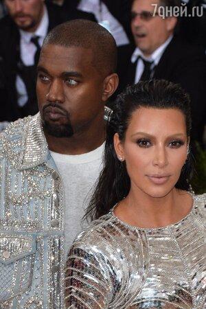 Не стал рисковать: стало известно, как Канье Уэст ответил на заявление Ким о разводе