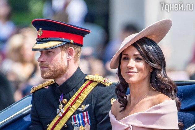 Меган Маркл и принц Гарри безвозвратно лишились титулов