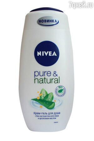 Крем-гель для душа Pure&Natural от Nivea