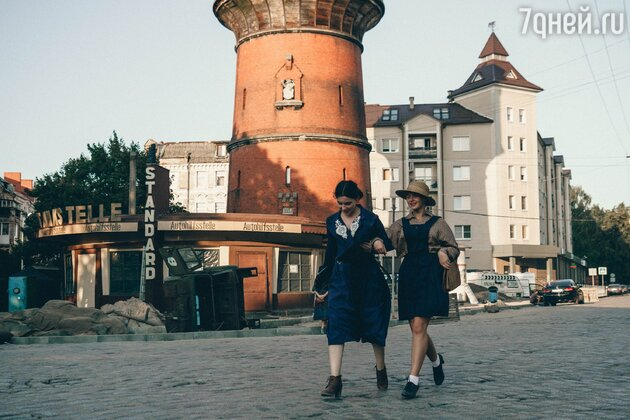 Екатерина Климова побывала в немецком замке 15 века