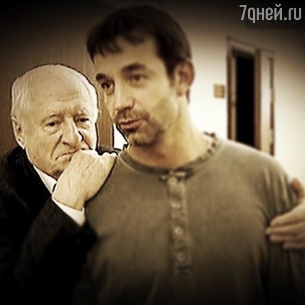 Дмитрий Певцов и Марк Захаров