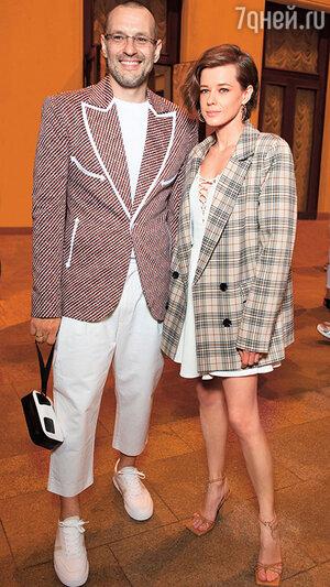 Катерина Шпица с мужем