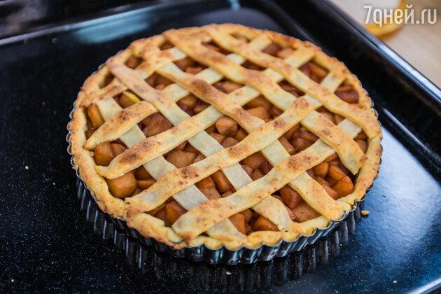 Яблочный пирог от Александра Бельковича