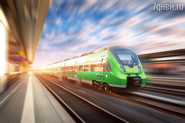 К чему снится поезд. фото