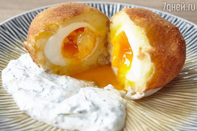 Яйца по-шотландски: рецепт от шеф-повара Александра Бельковича. фото