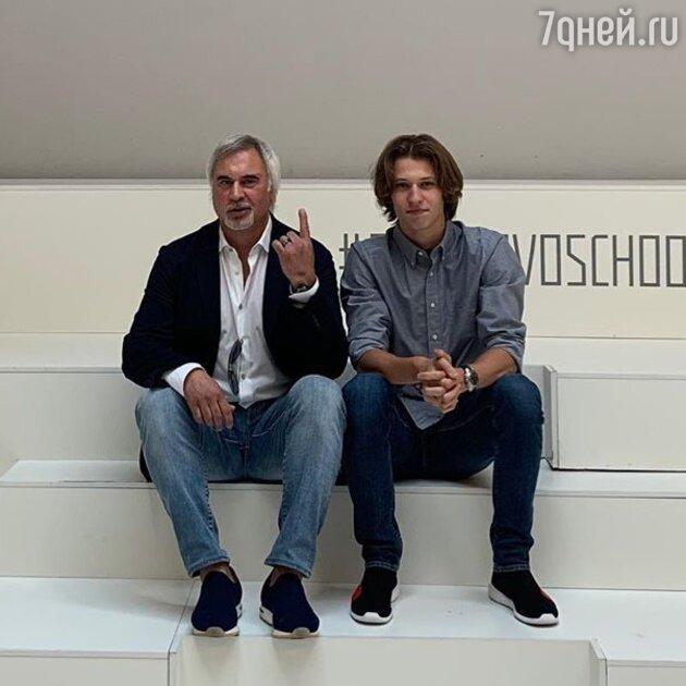 Валерий Меладзе с сыном Константином